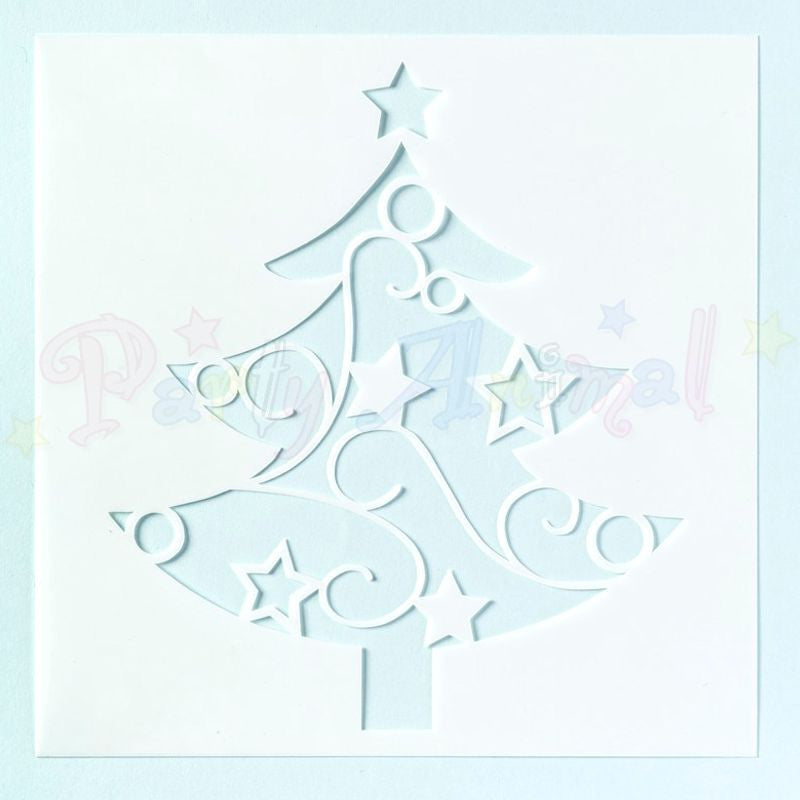 Culpitt Stencil - Christmas Tree