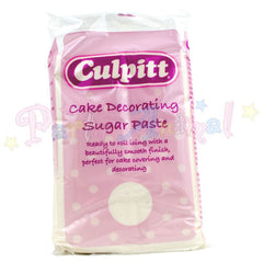 Culpitt Sugarpaste - Brilliant White 1Kg