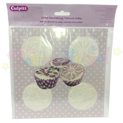 Culpitt Texture Mat - Mixed Flowers