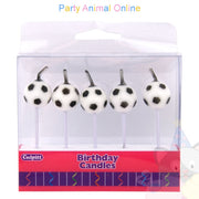Culpitt Novelty Candles - Footballs 5 pack