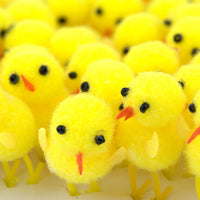 Chenille Small Yellow Easter Chick