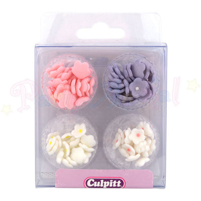 Culpitt Edible Sugar Decorations MINI BLOSSOMS - 100 Flowers