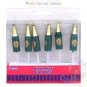Culpitt Novelty Candles - Champagne Bottles