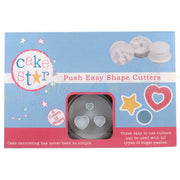Cake Star Push Easy Plunger Cutter Set - Shape Cutters