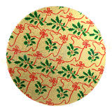 "ROUND Double Thick Cake Board - 8"" (203mm) Christmas Design"