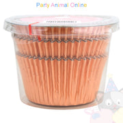 Metallic Foil Muffin Cases - approx. 45/pack - Rose Gold
