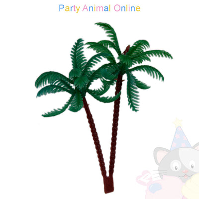 Cake Topper - Plastic Palm Trees