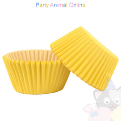 Small Muffin Baking Cases - 50 pack - Yellow