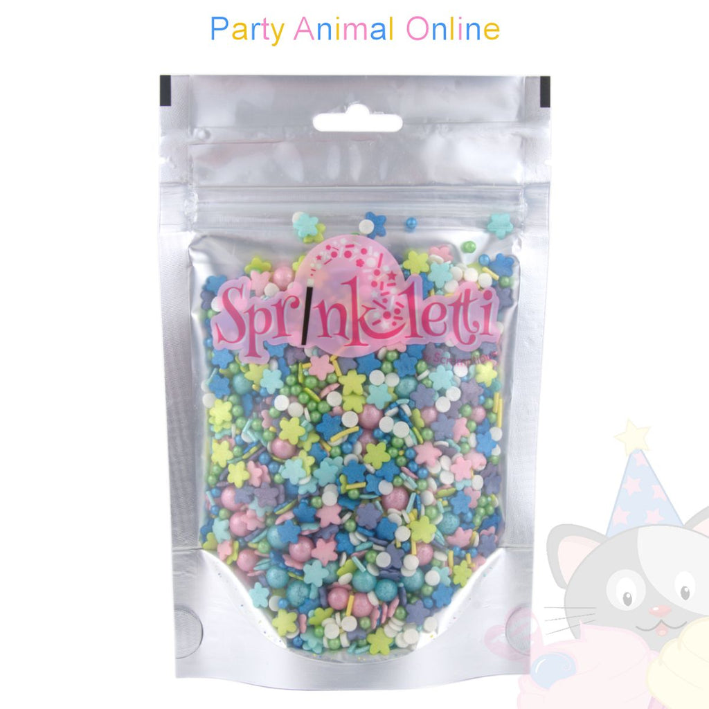 Sprinkletti - Edible Sprinkles Range - Flower Power Mix 100g
