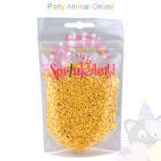 Sprinkletti - Edible Sprinkles Range - Gold 100g