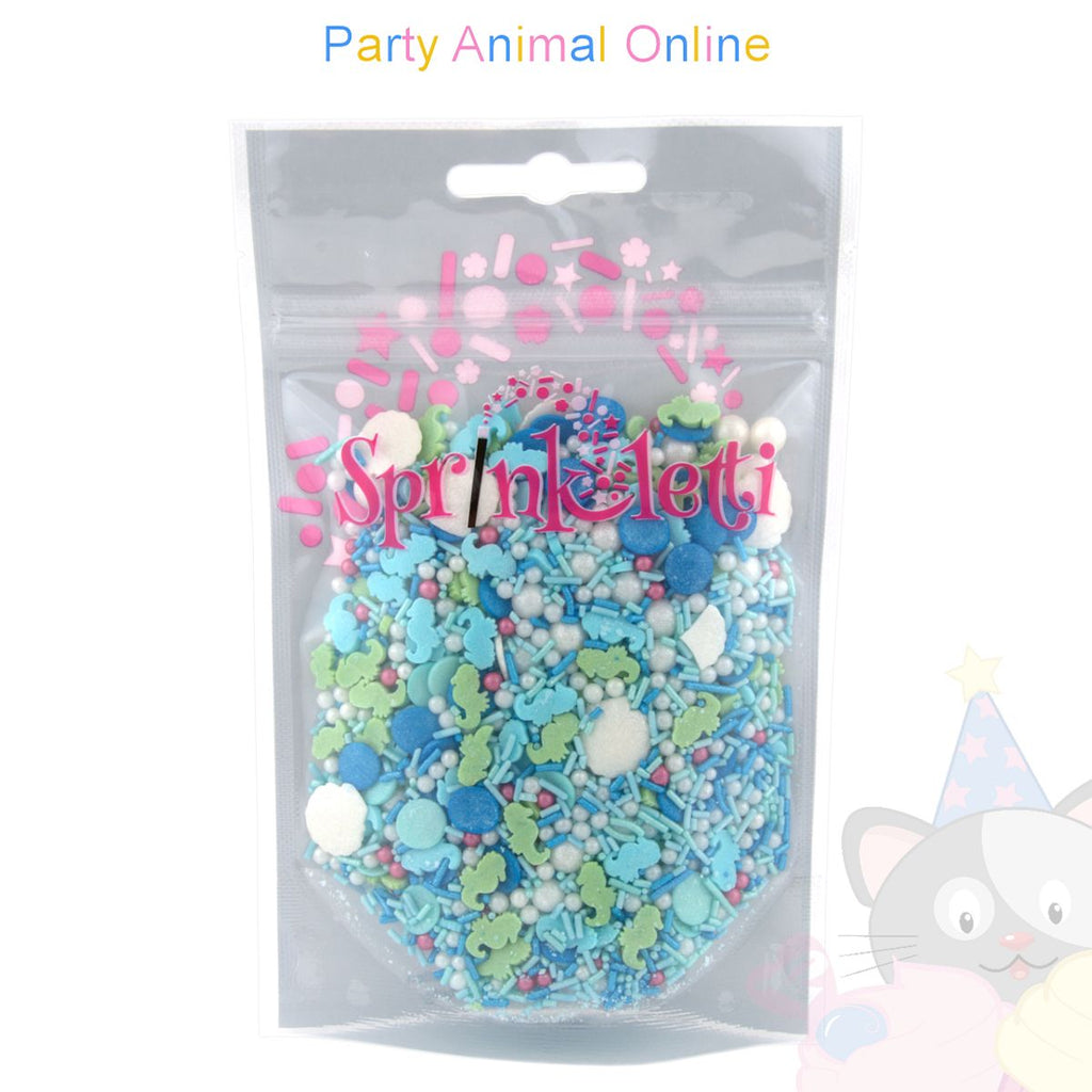 Sprinkletti - Edible Sprinkles Range - Mermaid Mix 100g