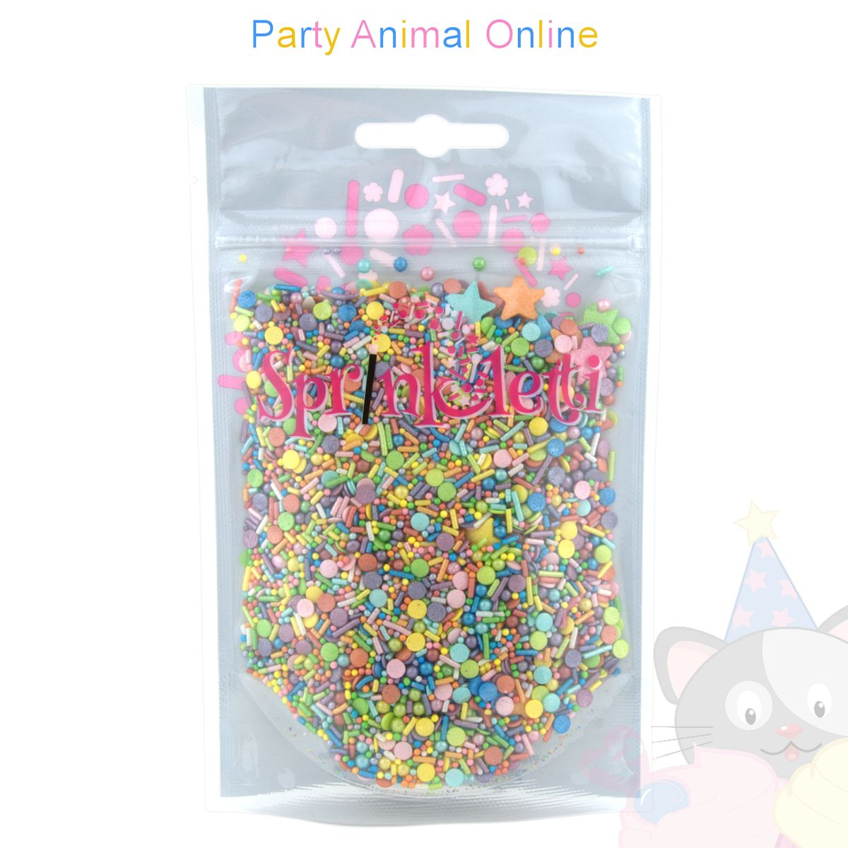 Sprinkletti - Edible Sprinkles Range - Rainbow Mix 100g