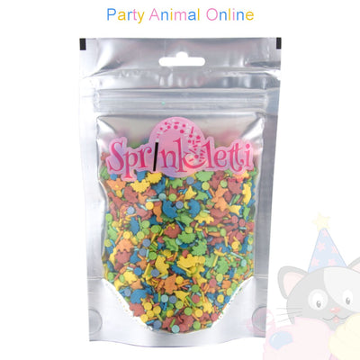 Sprinkletti - Edible Sprinkles Range - Sprinklettisaurus Mix 100g