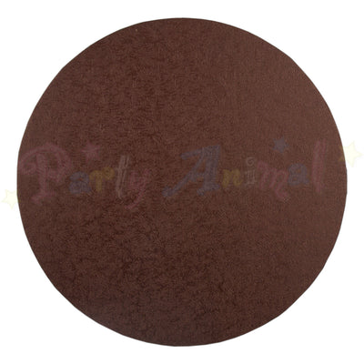 ROUND Drum Cake Board - Brown Foil - SINGLE BOARD - Choose Size