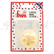 FMM 5 Petal Rose Cutter - 35mm