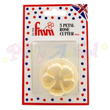 FMM 5 Petal Rose Cutter - 40mm