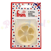 FMM 5 Petal Rose Cutter - 50mm