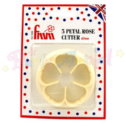 FMM 5 Petal Rose Cutter - 65mm