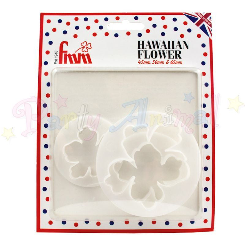 FMM Hawaiian Flower Cutters Set of 3