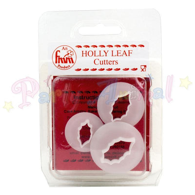 FMM Holly Leaf Cutters Set