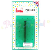 FMM  Press Ice Embosser POLKA 5 Impression Tool GREEN