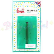 FMM  Press Ice Embosser POLKA 3 Impression Tool GREEN