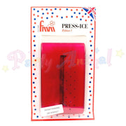 FMM Press Ice Embosser RIBBON 1 Impression Tool RED
