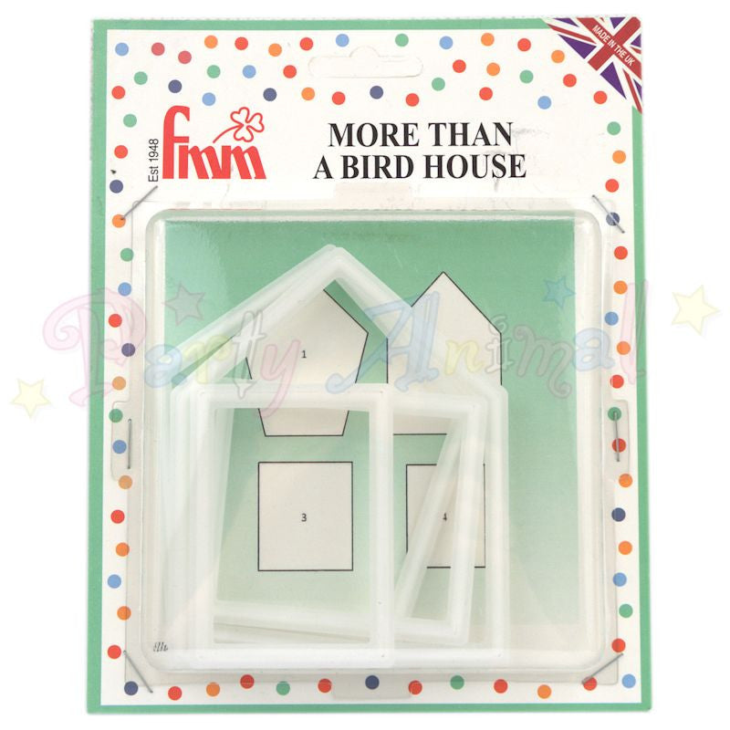 FMM Sugarcraft Cutters - More Than a Bird House Set