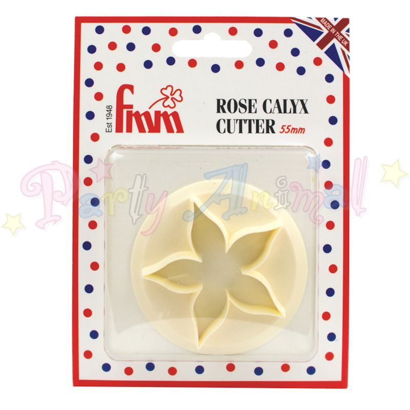 FMM Sugarcraft Rose Calyx Cutter 55mm
