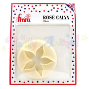 FMM Sugarcraft Rose Calyx Cutter 70mm
