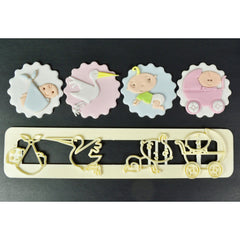FMM - Adorable Baby Motif Cutter Set