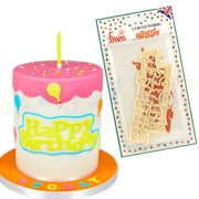 FMM Curved Words Cutter - Happy Birthday