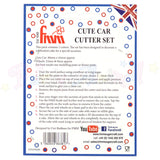FMM Sugarcraft - Cute Car Cutter Set