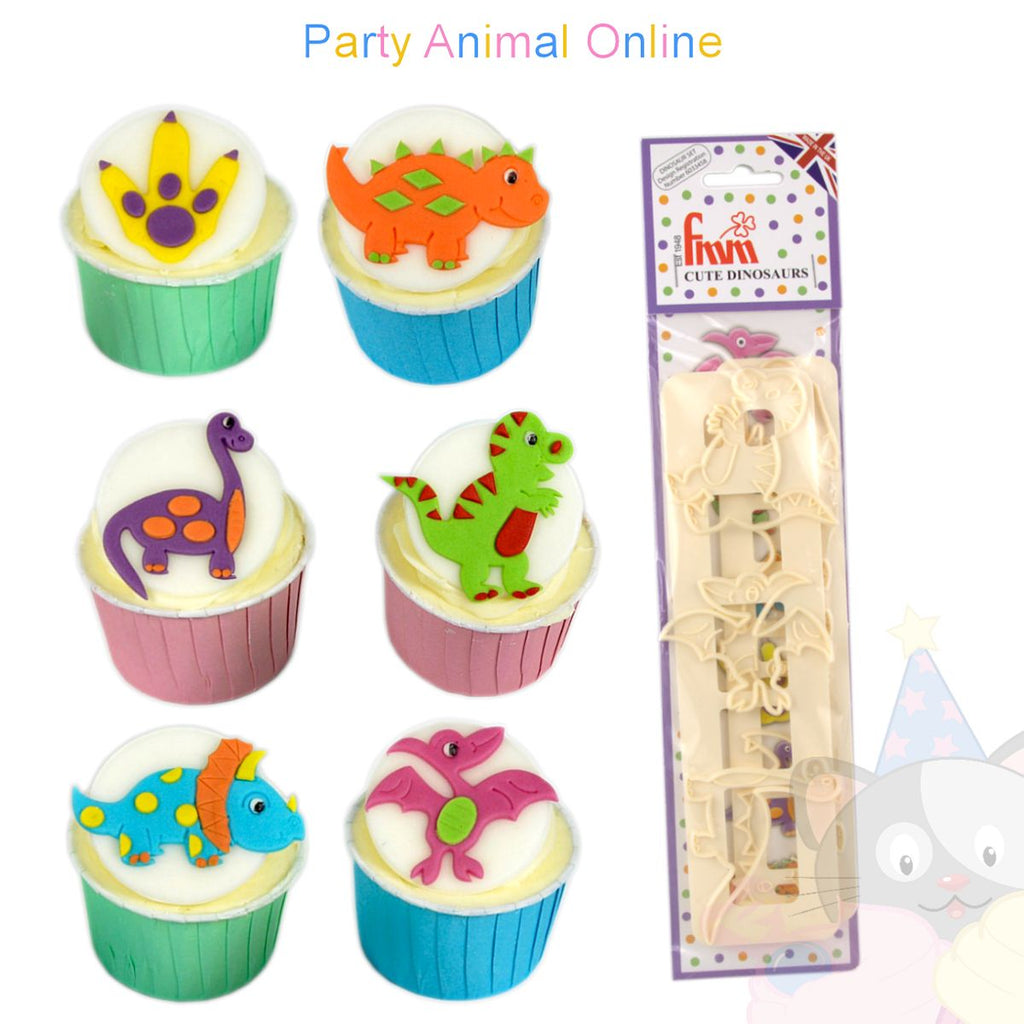 FMM Sugarcraft - Cute Dinosaur Cutters
