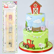 FMM Sugarcraft - Cute Farm Animal Cutters