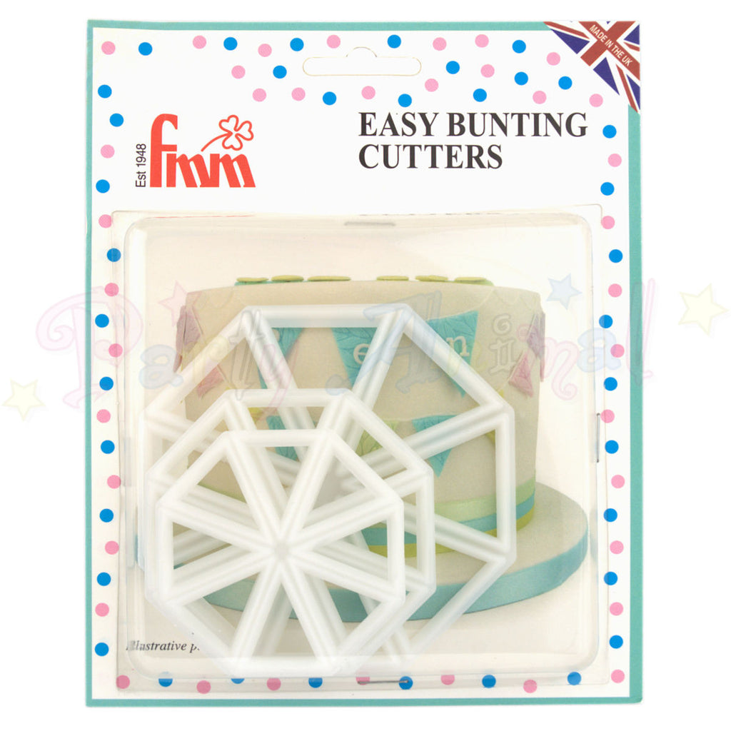 FMM Sugarcraft - Easy Bunting Cutter Set