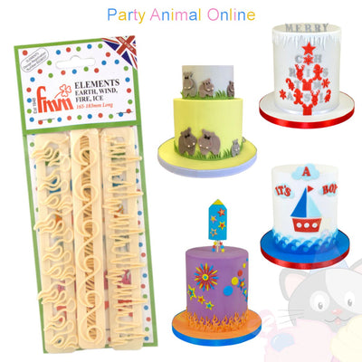 FMM Elements Cutters perfect for Cake Borders - Cake Supplies