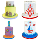 FMM Sugarcraft Elements Tappit - Cake Craft Cutters - Cake Examples