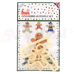 FMM Gingerbread People Cutter Set
