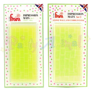 FMM Textured Impressions Mats - Both Sets!