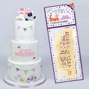 FMM Curved Words Cutter - Just Married