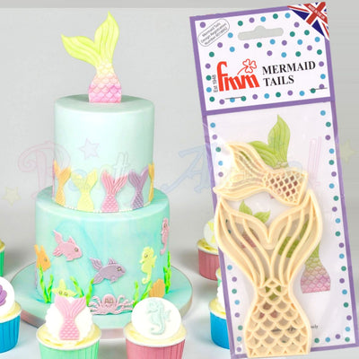 FMM Mermaid Tails Cutter Set