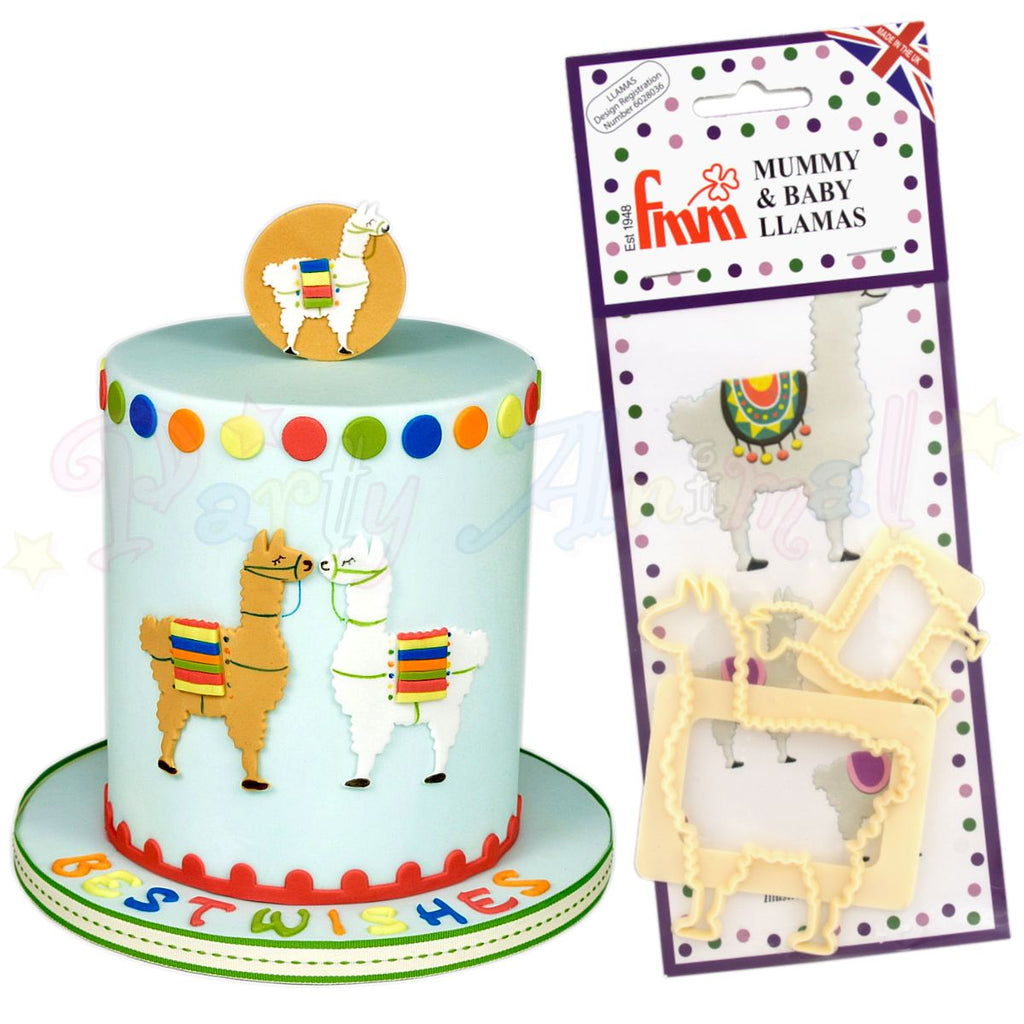 FMM Mummy and Baby Llamas Cutter Set!