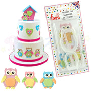 FMM The Mummy and Baby Owl Cutter Set!