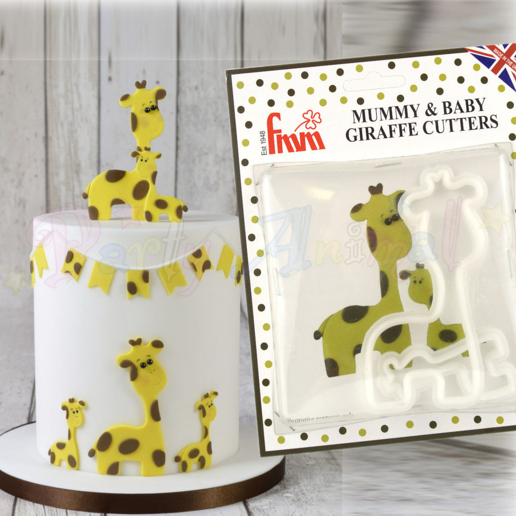FMM The Mummy and Baby Giraffe Cutter Set!
