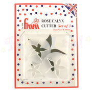 FMM Sugarcraft Rose Calyx Cutter Set of 3