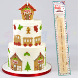 FMM Sugarcraft - Cool Christmas Tappit Cutters