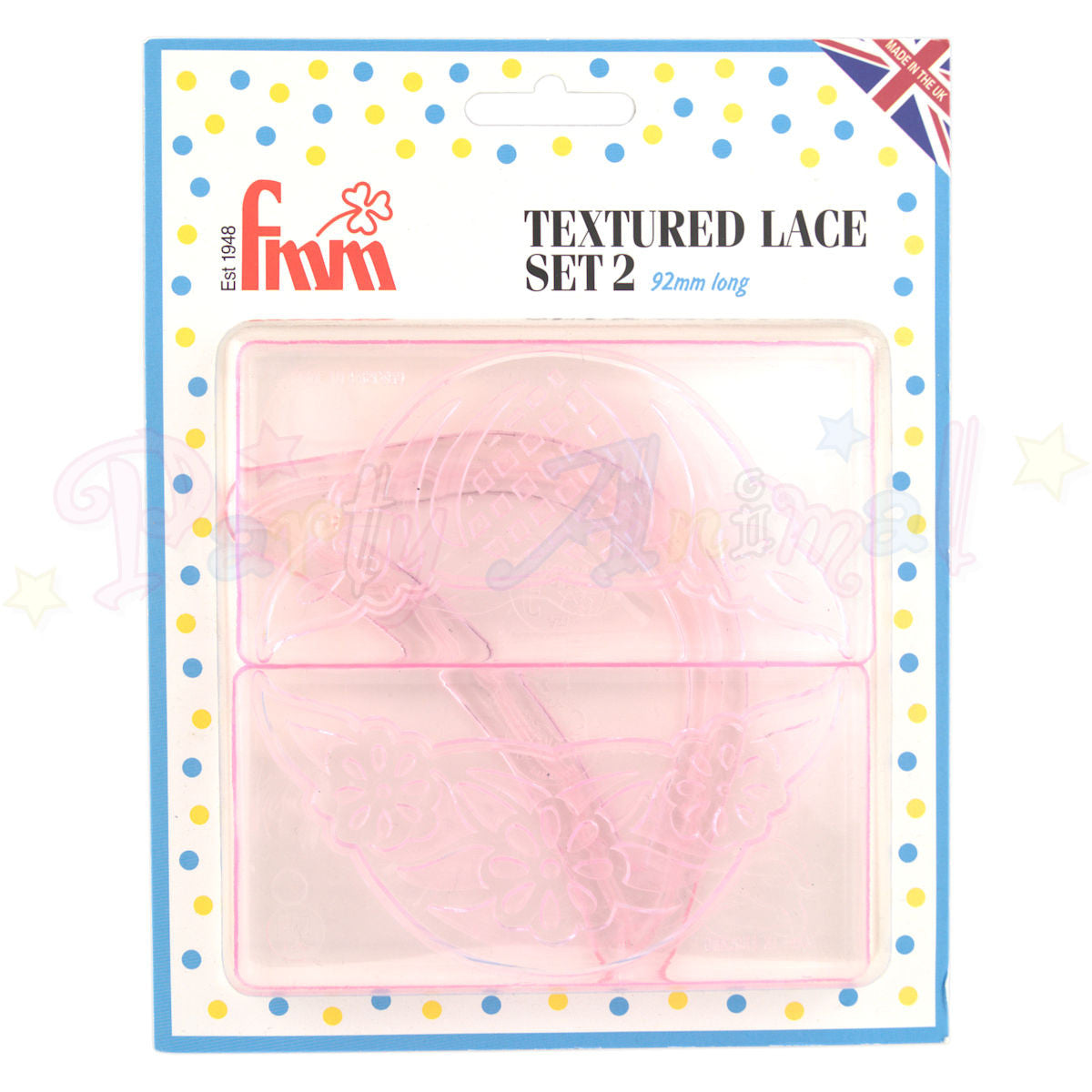 FMM Textured Lace Set 2 - 92mm long