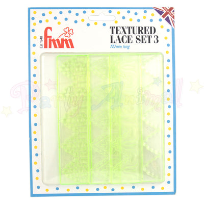 FMM Textured Lace Set 3 - 127mm long