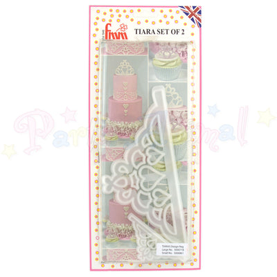 FMM Sugarcraft - Tiara Cutter Set of 2